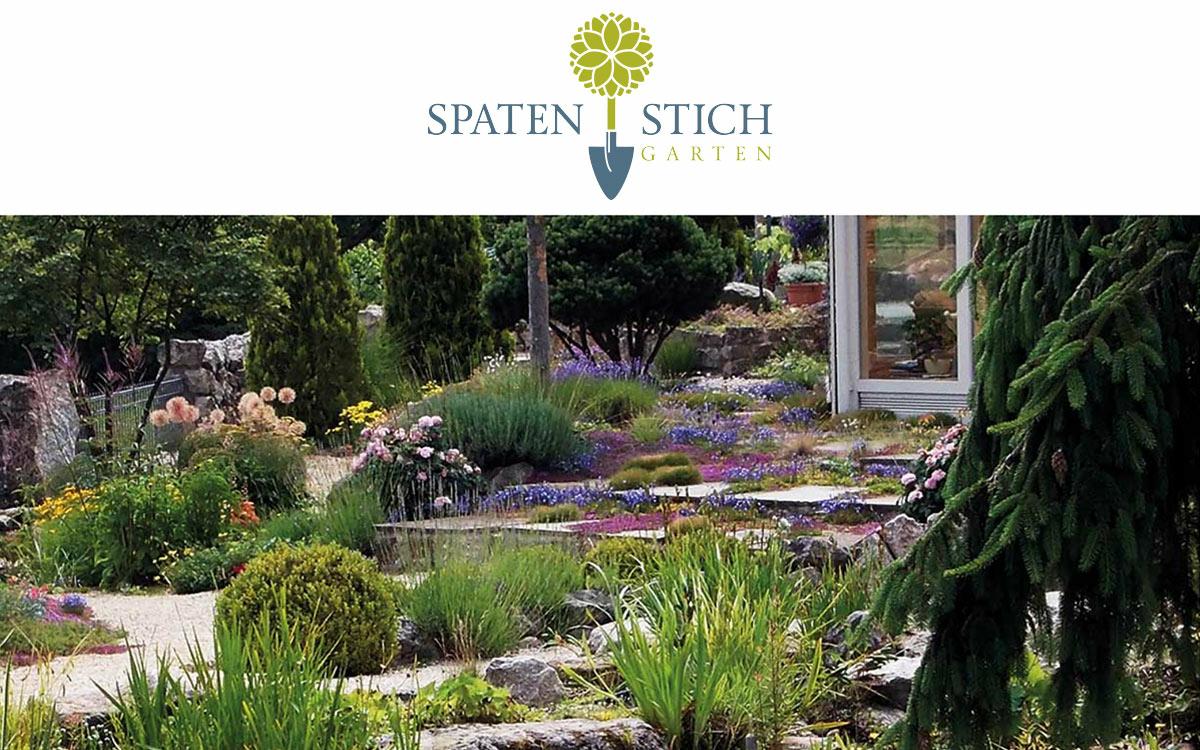 Logo Spatenstich Gartenbau & Landschaftsbau
