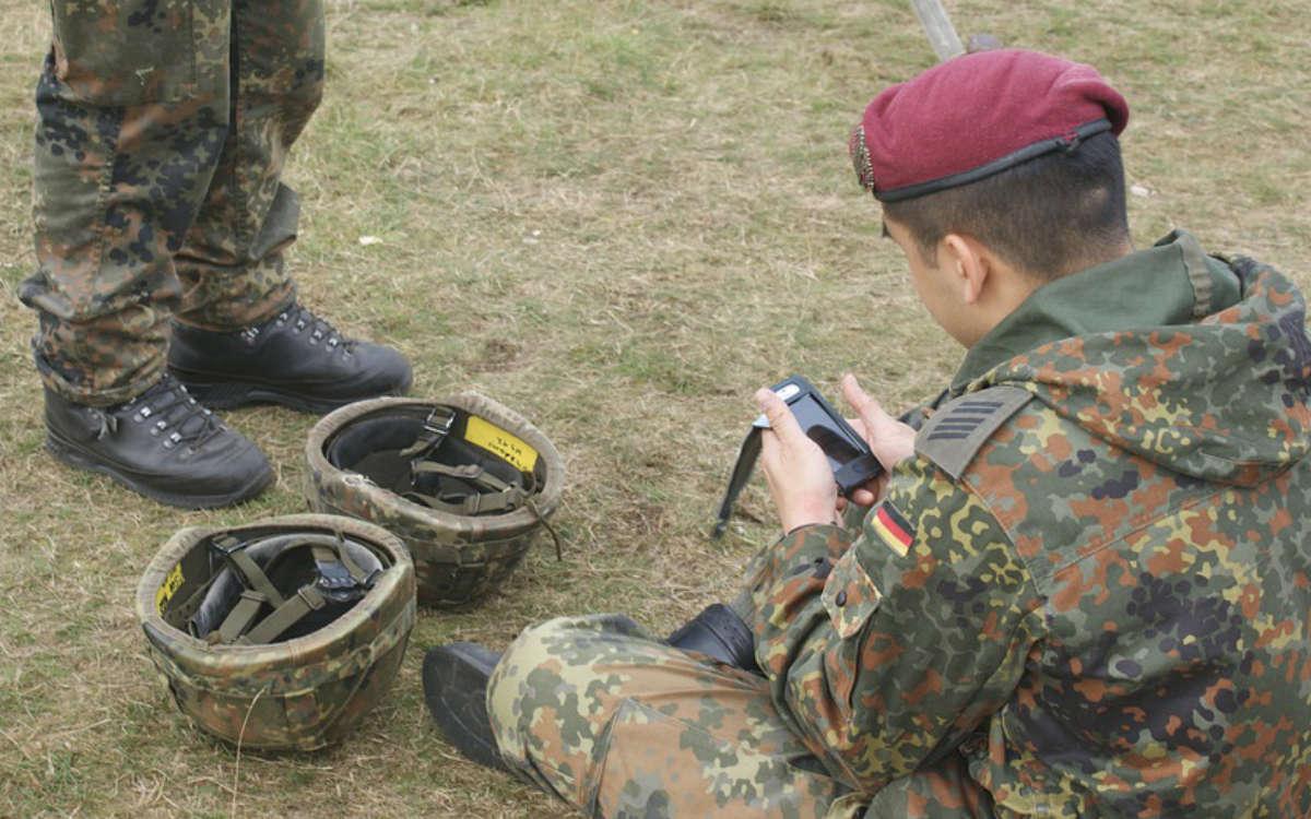 Bayreuth fordert Unterstützung von der Bundeswehr an: Hier werden die Soldaten eingesetzt. Symbolfoto: Pixabay