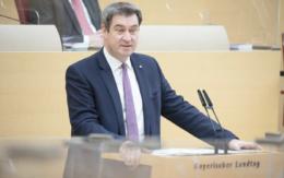 Markus Söder die Kabinettsitzung in Bayern geleitet. Ein Freedom Day wird kritisch gesehen. Symbolfoto: Stefan Obermayer
