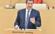 Bayerns Ministerpräsident Markus Söder gibt heute eine Pressekonferenz. Es geht um weitere Corona-Lockerungen in Bayern. Symbolfoto: Rolf Poss (Bildarchiv Bayerischer Landtag)