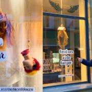 Andreas Nuissl macht mit der Aktion #lasstunsnichthängen auf die Not in seiner Branche aufmerksam. Fotos: SAGS online / Collage: Redaktion