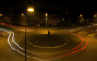 Unfall im Kreisverkehr: Eine Betrunkene hat in Marktredwitz die Kontrolle über ihr Auto verloren. Symbolfoto: Pixabay