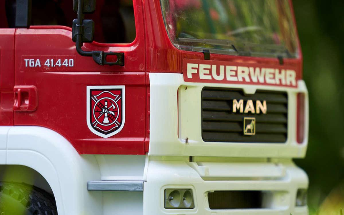Die Feuerwehr im Einsatz. Symbolfoto: Pixabay