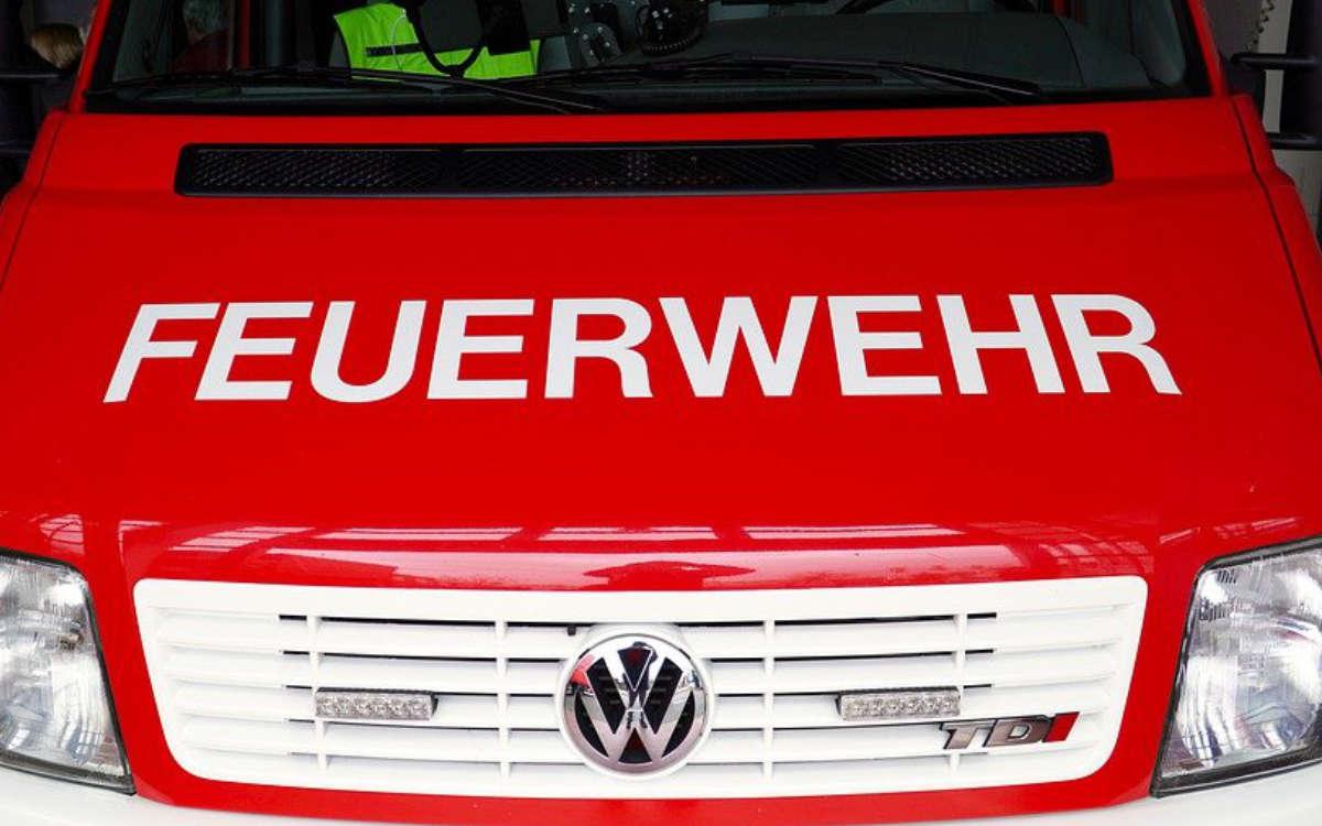 Die Feuerwehr in Bayreuth im Einsatz. Symbolfoto: Pixabay