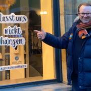 Der Bayreuther Friseur Andreas Nuissl startet zur Wiedereröffnung seiner Salons eine Charity-Aktion. Foto: SAGS online