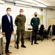 Die Bundeswehr zu Gast am Bayreuther Landratsamt. Foto: Landkreis Bayreuth