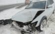 Unfall im Landkreis Kulmbach: Ein Auto ist gegen einen Telefonmast gekracht. Foto: Polizei Stadtsteinach