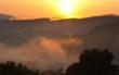 Der Himmel könnte von Montag bis Mittwoch wieder rot leuchten: Saharastaub wird erwartet. Symbolbild: pixabay
