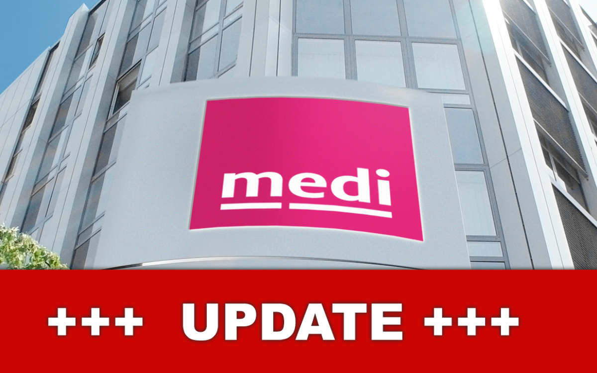 Beim Unternehmen medi in Bayreuth hat es mehrere Corona-Fälle gegeben. Foto: medi GmbH & Co. KG