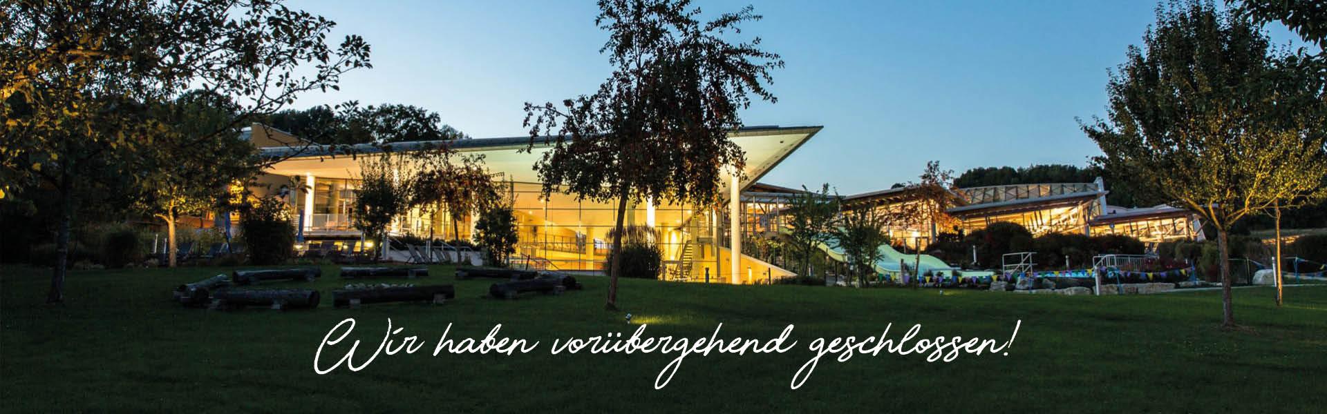 Therme Obernsees - Wir haben vorübergehend geschlossen