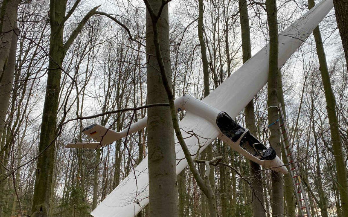Segelflieger über Oberfranken abgestürzt: Das ist bisher bekannt. Foto: News5/Merzbach