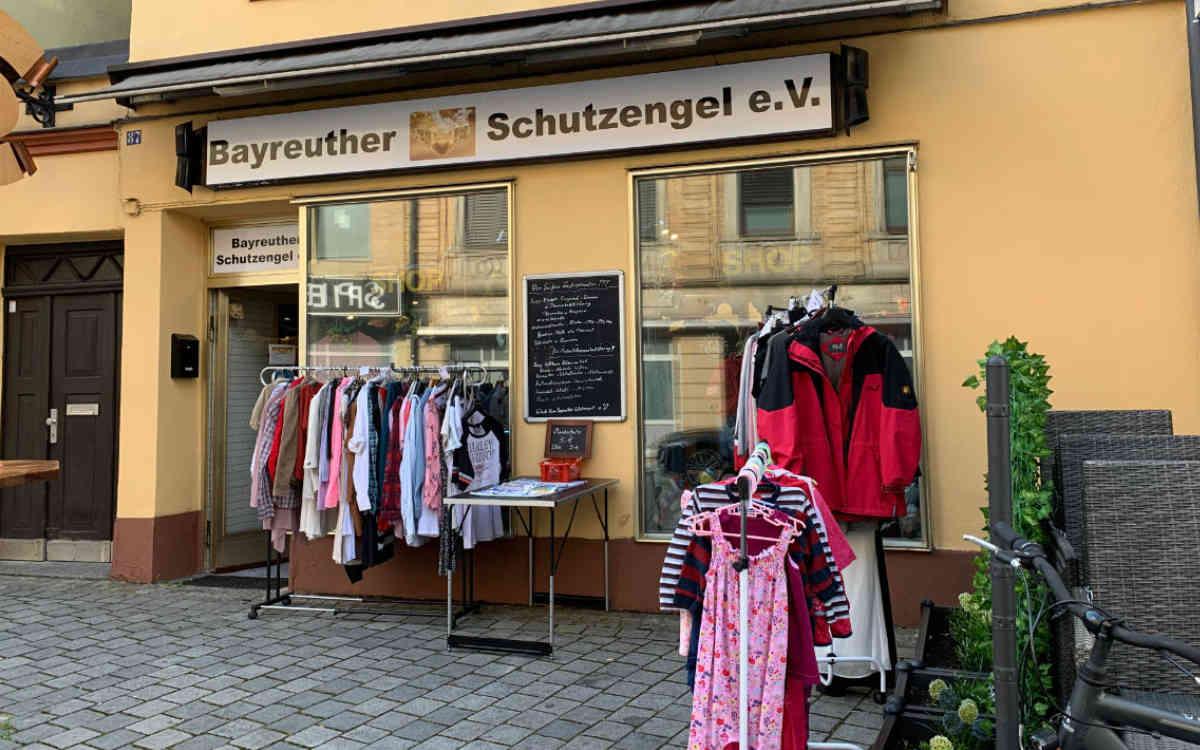 Das Geschäft von Schutzengel e.V. ist in der ehemaligen Metzgerei Löw in der Bayreuther Maxstraße. Archivfoto: Katharina Adler