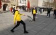 Die SpVgg Bayreuth und der BBC Bayreuth wollen ein Zeichen in der Corona-Pandemie setzen. Für Freitag (12.3.2021) war eine gemeinsame Aktion in Bayreuth geplant. Foto: Redaktion