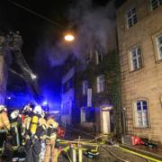 Eine Frau ist in Bamberg bei einem Wohnhausbrand ums Leben gekommen. Foto: NEWS5/Merzbach