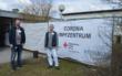 Am Donnerstag (18.3.2021)hat das Landratsamt Bayreuth einen besonderen Einblick in die in die ehrgeizige Bekämpfung der Corona Pandemie seiner Mitarbeiter gegeben. Foto: Raphael Weiß