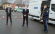 Mit digitalemForensik-Labor mobil gegen Krimininelle: Am Freitag (19.3.2021) hat das Polizeipräsidium Oberfranken Deutschlands bisher einzigstes Fahrzeug dieser Art vorgestellt. Foto: Raphael Weiß