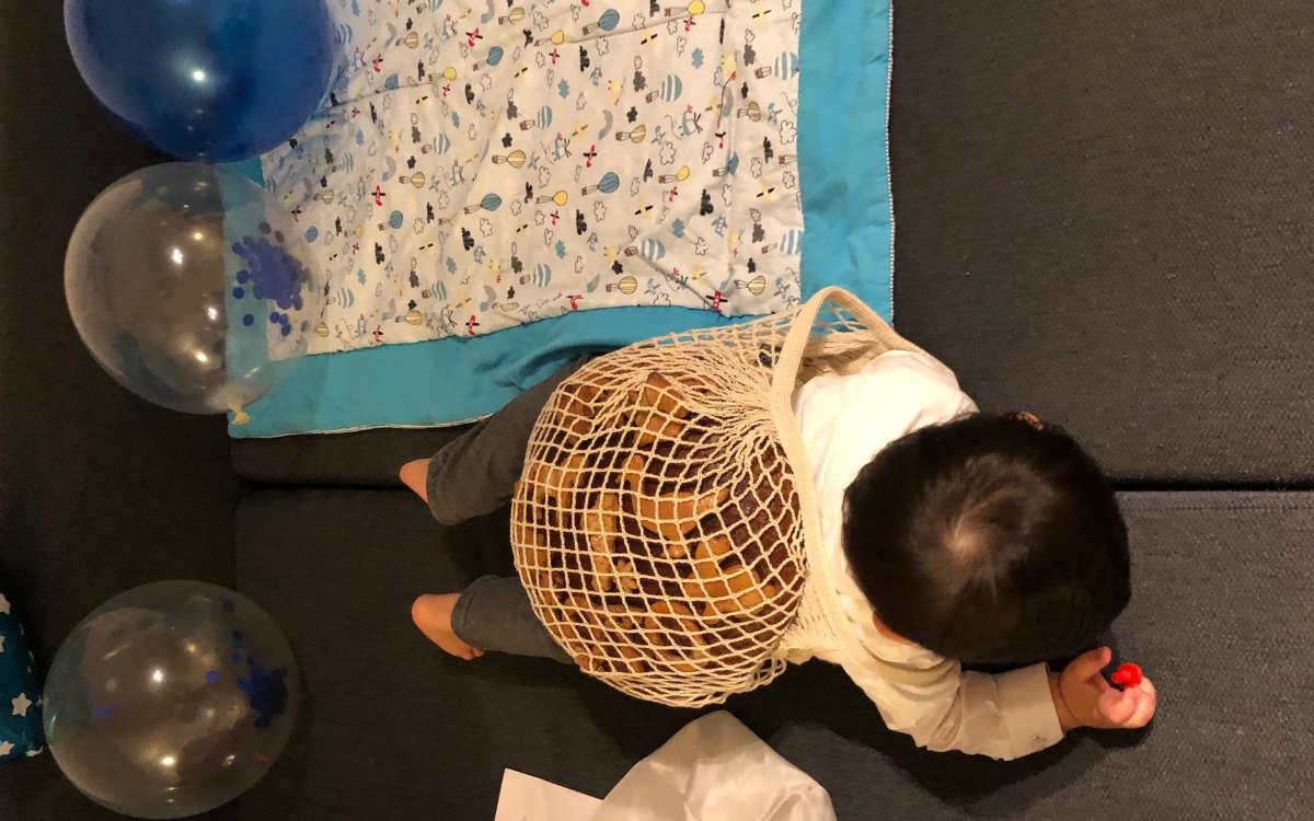 Andere Länder, andere Sitten: Eine in Düsseldorf lebende Japanerin hat bei der Bäckerei Lang in Bayreuth einen 1,5 Kilo schweren Laib Brot bestellt - aus einem ganz besonderen Grund. Foto: privat