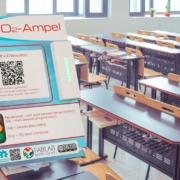 Das FabLab Bayreuth produziert CO2-Ampeln für Schulen. Fotos: pixabay/FabLab, Montage: Redaktion
