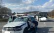 Unfall am Freitag (26.3.2021) im Landkreis Lichtenfels. Foto: n5/Merzbach