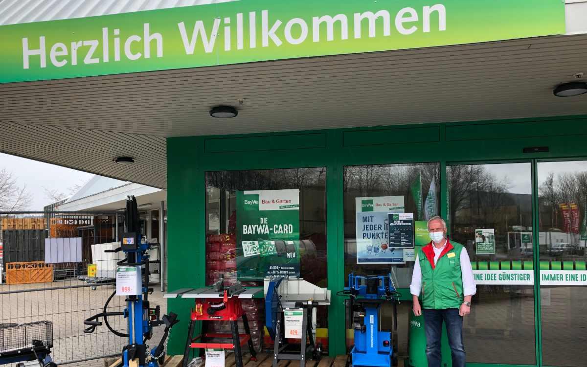 Alfred Funk, stellvertretender Marktleiter der BayWa in Bindlach. Bild: Jürgen Lenkeit
