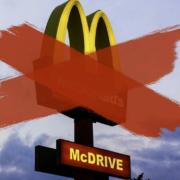 Die McDonald's Filiale in Hallstadt bei Bamberg bleibt nach einem Corona-Ausbruch vorübergehend geschlossen. Symbolfoto: Pixabay (Montage: Redaktion)