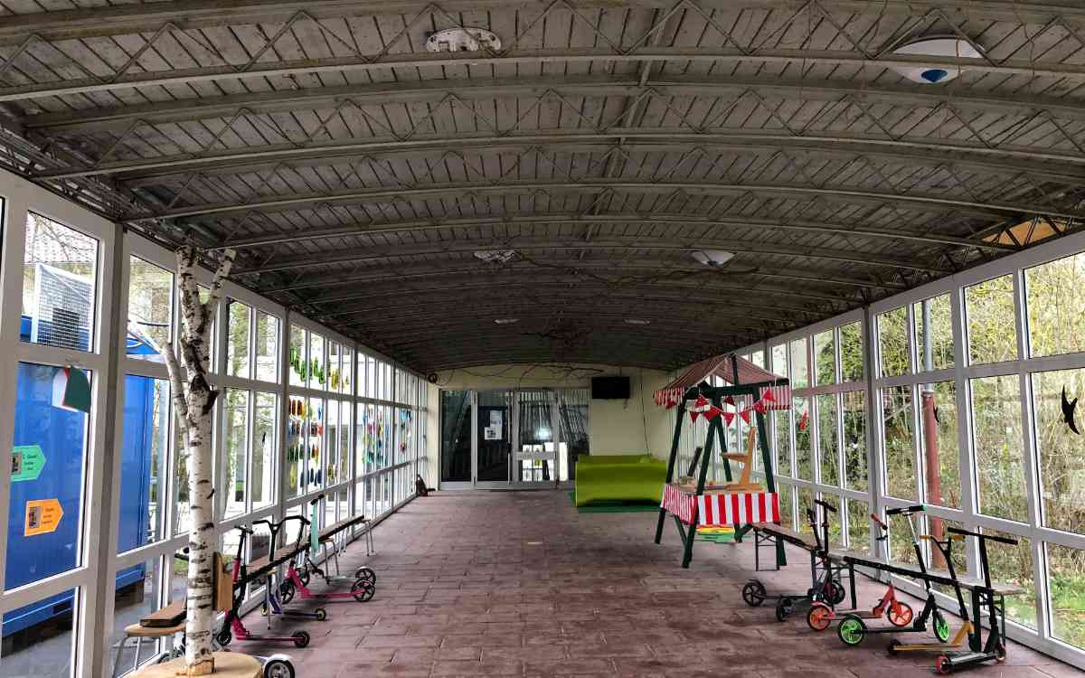 Der Verbindungsbau der Grundschule St. Georgen. Bild: Jürgen Lenkeit