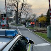 Eine Radfahrerin ist bei einem Unfall in Bayreuth gestorben. Sie ist mit einem Zug kollidiert. Foto: NEWS5/Fricke