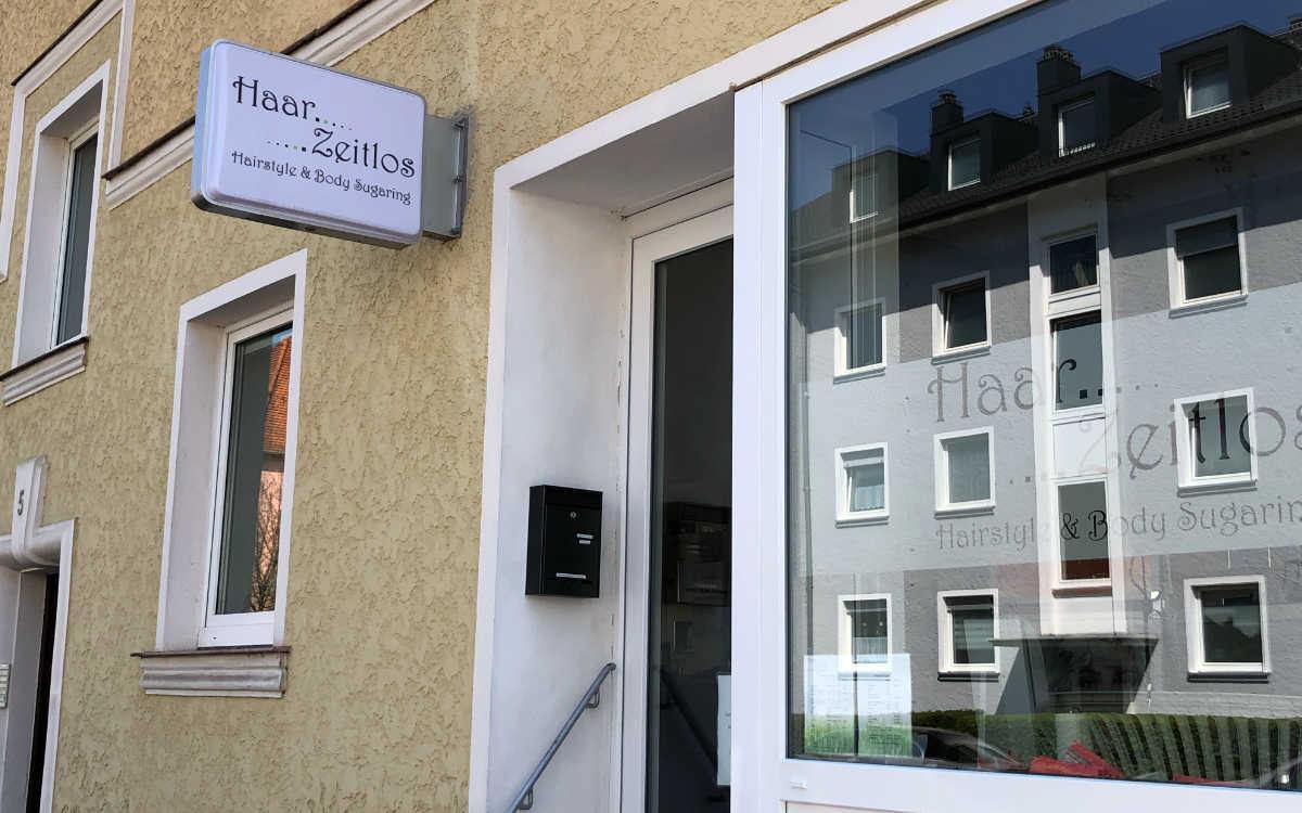 Laut bt-Lesern der beste Friseur in Bayreuth: HaarZeitlos in der Feustelstraße. Bild: Jürgen Lenkeit