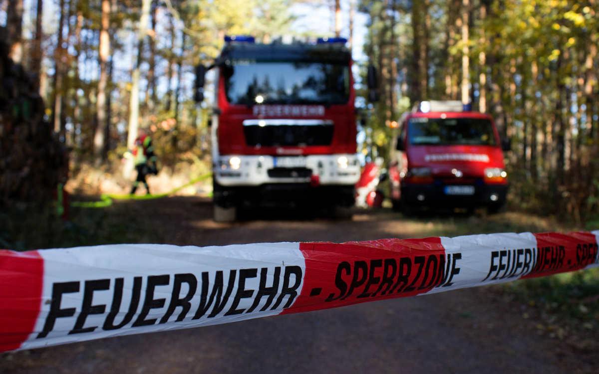 Bei Stadtsteinach hat es in einem Wald gebrannt. Symbolbild: Pixabay