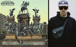 6.000 Fuß über Bayreuth heißt die neue LP von AzudemSK und Morlockko Plus. Im Interview mit dem Bayreuther Tagblatt hat Künstler AzudemSK (rechts im Bild) über das Projekt gesprochen. Cover: Bureau Omega (Montage: Redaktion)