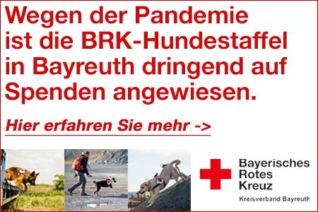 BRK Rettungshundestaffel Spendenaufruf