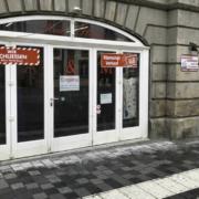 Neues Restaurant: In der Maximilianstraße 9 in Bayreuth entsteht das Zollhaus IX. Foto: Jürgen Lenkeit