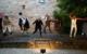 Lockerspiele 2020: Die Studiobühne Bayreuth in der Eremitage. Bild: Jürgen Skambraks/Studiobühne Bayreuth