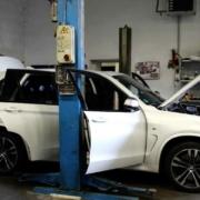 Ein gestohlener BMW. Foto: Polizei Sachsen