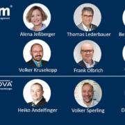 Der neue Verbundbeirat der vfm-Gruppe. Foto: vfm