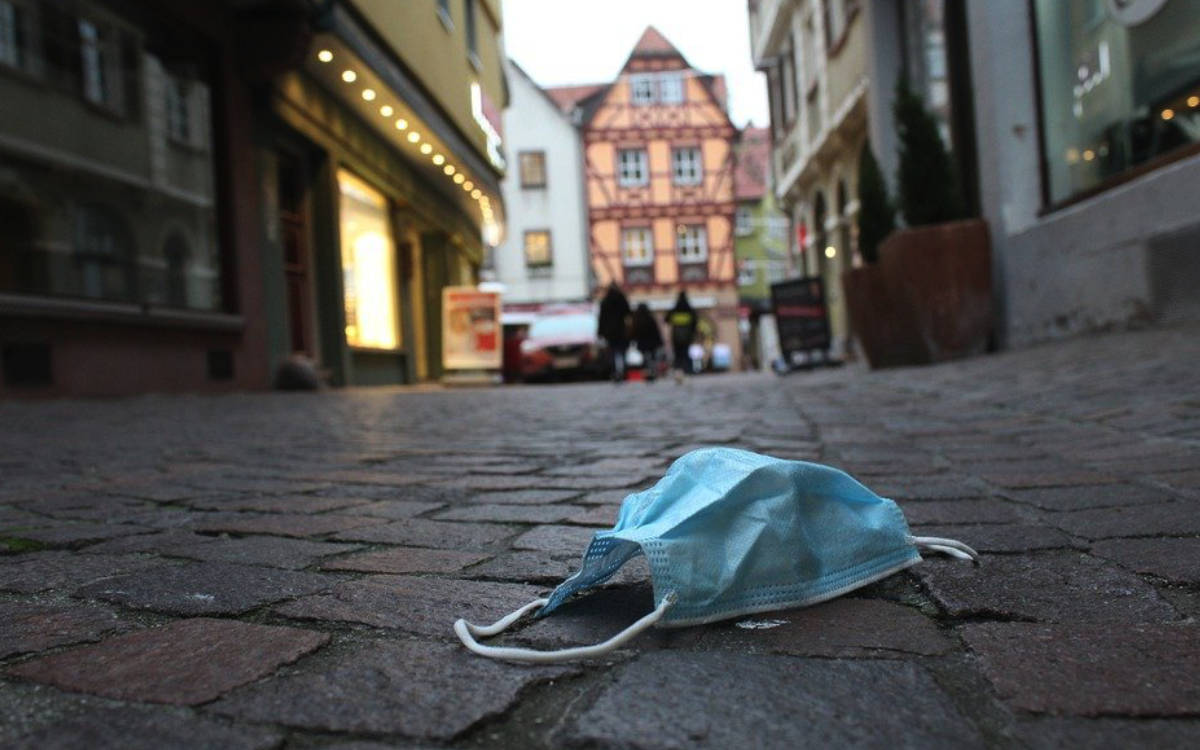 Corona Bayreuth: Zum ersten Mal seit Längerem wird die Stadt vom Landkreis überholt. Symbolbild: Pixabay.