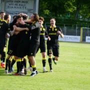 Im vorherigen Play-Off-Spiel hat die SpVgg Bayreuth Viktoria Aschaffenburg mit 4:0 besiegt. Foto: Raphael Weiß