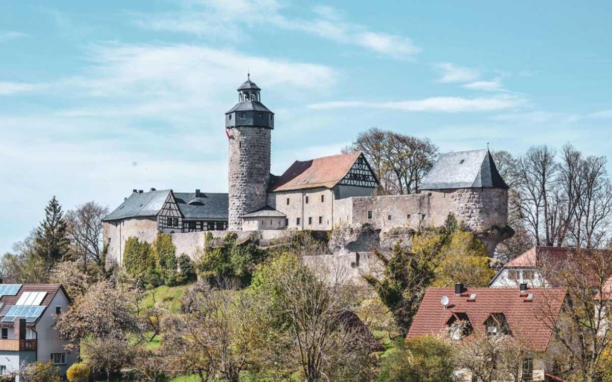 Sanspareil in der Fränkischen Schweiz. Foto: Alexandra Baier