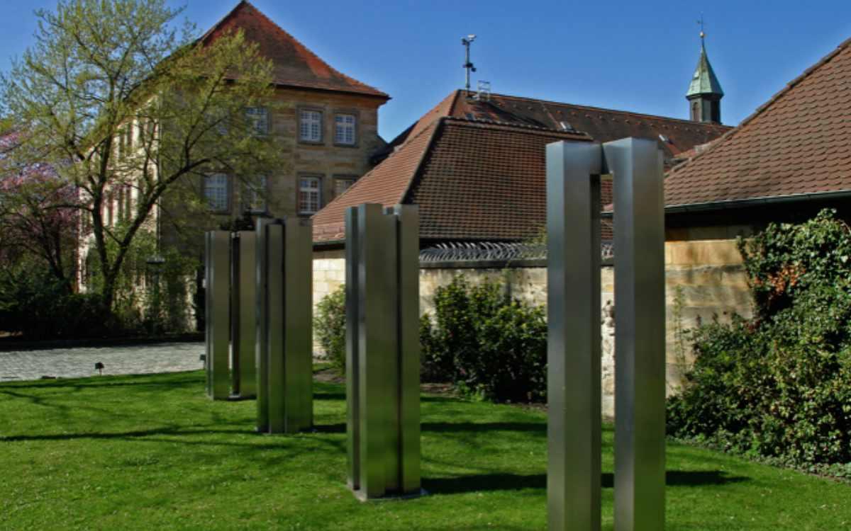 Das Gefängnis in Bayreuth: Hier erlebte Sängerin Diana Ezerex einen Schlüsselmoment ihrer Gefängnis-Konzerte. Bild: Bayerisches Staatsministerium der Justiz
