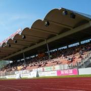 Der Vorverkauf für das DFB-Pokalspiel der SpVgg Bayreuth gegen Arminia Bielefeld startet am 27. Juli 2021. Archivfoto: Raphael Weiß