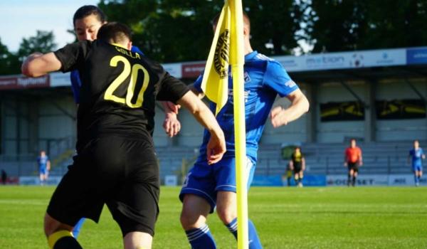 Die SpVgg Bayreuth holt sich die Tabellenführung gegen den SV Schalding-Heining. Archivfoto: Raphael Weiß