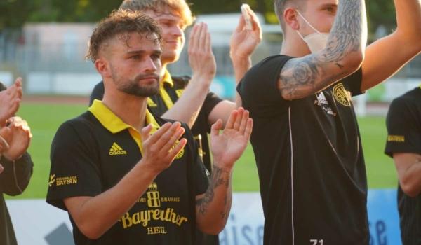 SpVgg Bayreuth gewinnt das Finale des Ligapokals und zieht in die Hauptrunde des DFB-Pokals. Archivfoto: Raphael Weiß
