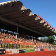 Die SpVgg Bayreuth hat am Dienstagabend gegen die FV Illertissen vor 500 Fans gespielt. Foto: Raphael Weiß