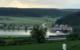 Im Bindlacher Ortsteil Gemein ist ein Bauernhof nach dem Starkregen teilweise überschwemmt worden. Bild: Bayreuther Tagblatt