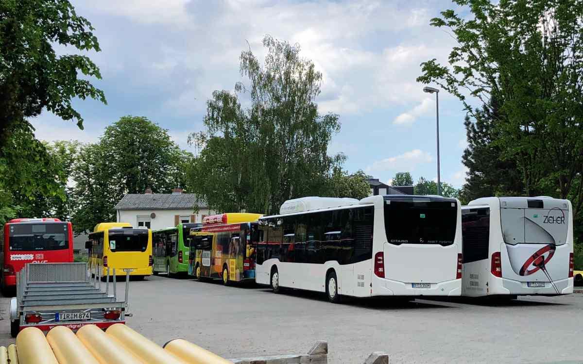 Der Omnibusbetriebshof der Stadtwerke Bayreuth soll in das Konzept integriert werden. Bild: Jürgen Lenkeit