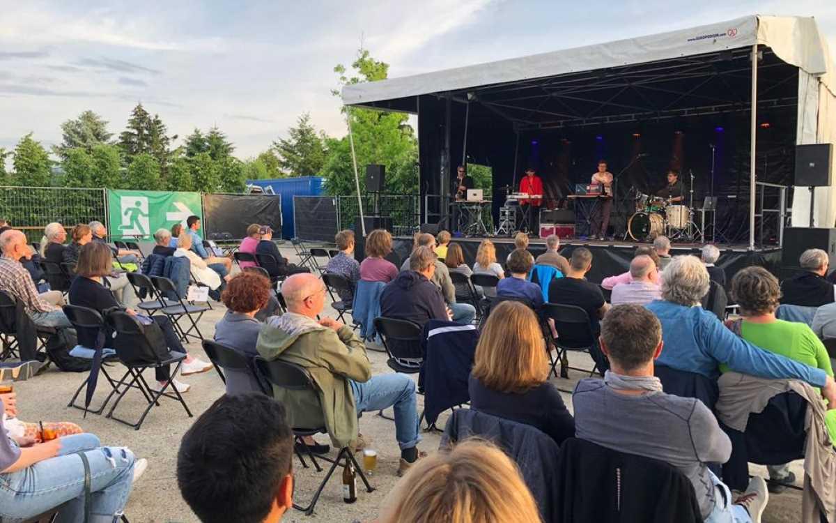 Die Bayreuth Summertime 2021 erfüllt bisher alle Erwartungen: Hier ein Auftritt der