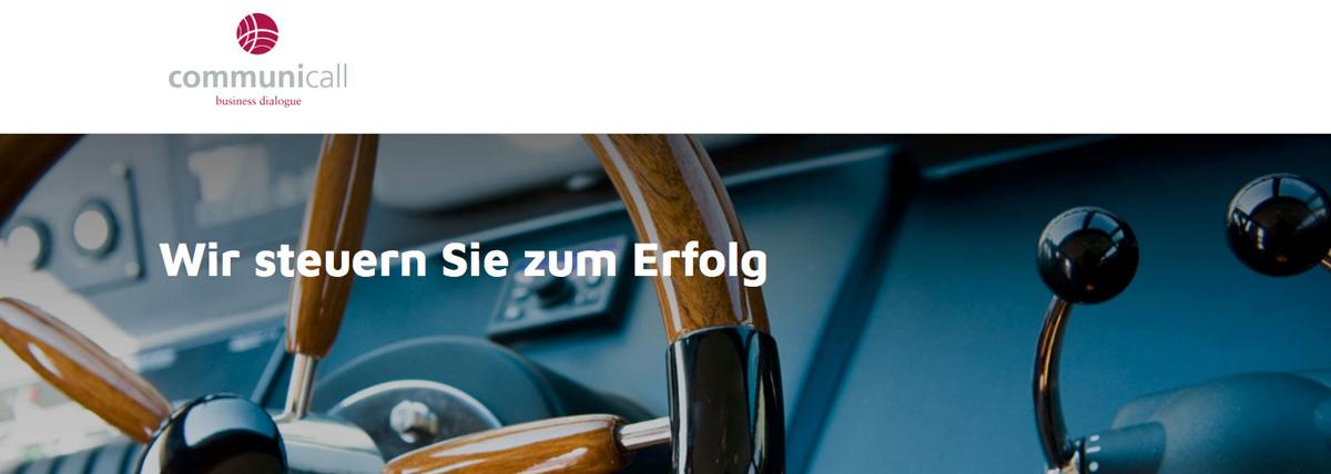 communicall Bayreuth - Stellenanzeige