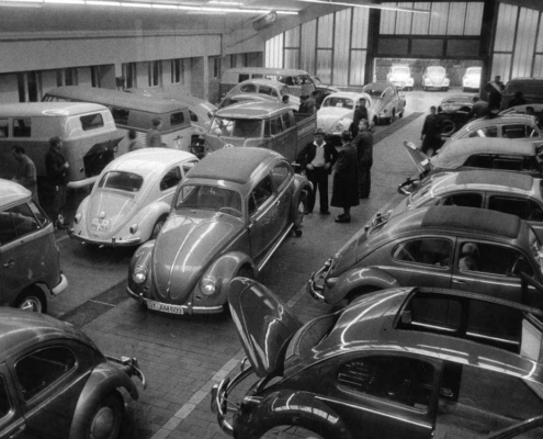 Die alte Werkstatt von Motor-Nützel. Foto: Motor-Nützel