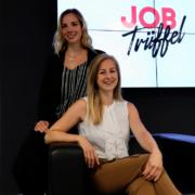 Patricia Knoll und Olivia Hofmann - die Gründerinnen aus Bayreuth starten mit ihrem Start-up Jobtrüffel durch. Bild: privat