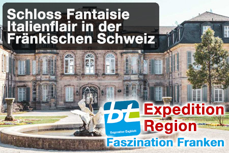 Schloss Fantaisie. Foto: Alexandra Baier/Banner: Redaktion